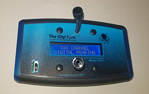 2-CHANNEL - The Digi Sync | Digital Throttle Body Sync Tool | Digital Carb Sync Tool | Vacuum Gauge (Digital Peaking Manometer) | NOT Syncpro