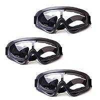 HONGCI 3 Pack Gafas de Seguridad para Niños,Juegos para Nños al Aire Libre Ga...