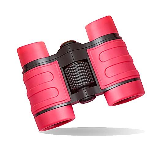 Anmete Binocolo per Bambini Mini Compatto Giocattolo Binocolo 3-10 Anni Portatile Binocolo per Bambini Impermeabile Birdwatching Escursione Campeggio attività allaperto Telescopio Giocattolo Regal