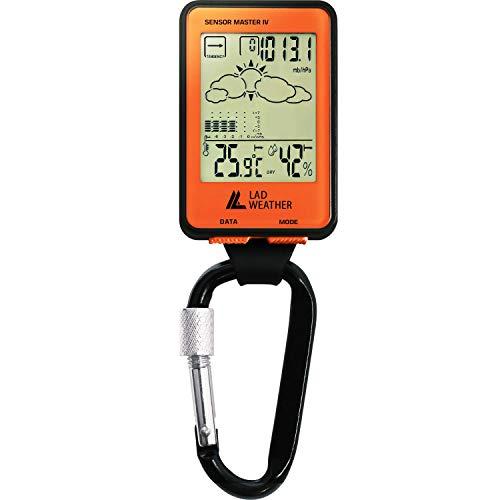 [ラドウェザー] アウトドア 時計 高度計 気圧計 温度計 湿度計 デジタルコンパス アウトドア用品