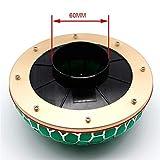 Filtro de Aire del Coche Universal Automóvil Modificado de Seta 60mm 100mm Ronda Limpiador de Alta Fluye de Toma del Sistema de Filtro Reloaded (Color : 60mm)