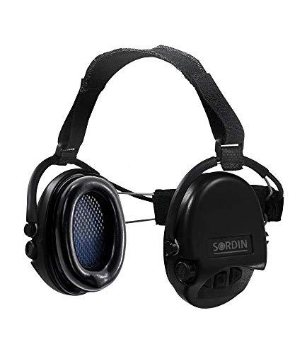 Sordin Supreme Pro Neckband Cascos - Auriculares Ultrafinos Electrónicos | Orejeras de...