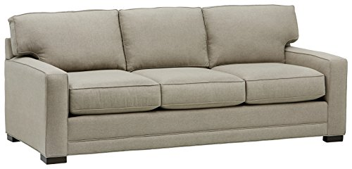 Amazon Brand – Stone & Beam Dalton Sectional Sofa Couch, 91.5'W, Stone