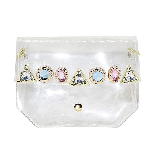 Mogor Transparent Cell Phone Clutch Purse Coin Wallet Handbag Case for Girls 1# - http://coolthings.us