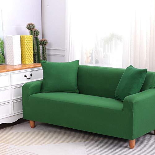 HXTSWGS Estensibile Copri Divano Letto,Copridivano Elasticizzato, Tessuto Elasticizzato, Fodera di Protezione per mobili-Verde_90-140cm