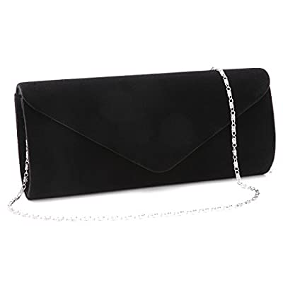 Women Evening Bag Velvet Clutch Purse Envelope Handbag For Wedding Party Prom.