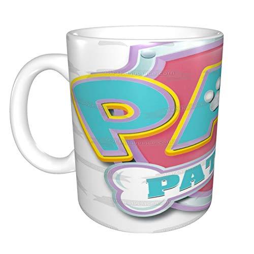 Taza de café divertida con diseño de Patrulla Canina para café, té,...