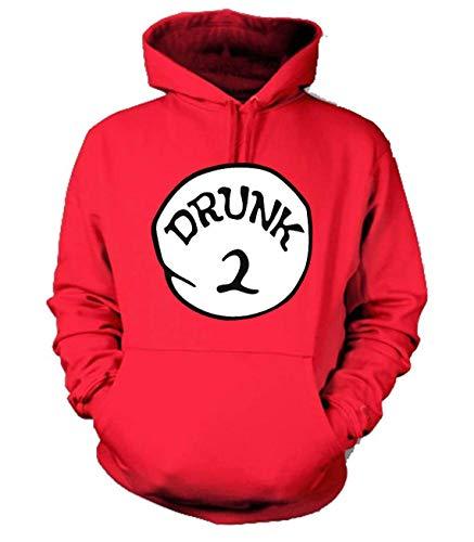 Galiti Drunk 1 Drunk 2 Funny Unisex Pullover Hoodie - Drunk 1,2,3,4,5 Funny Group Hooded Sweatshirt