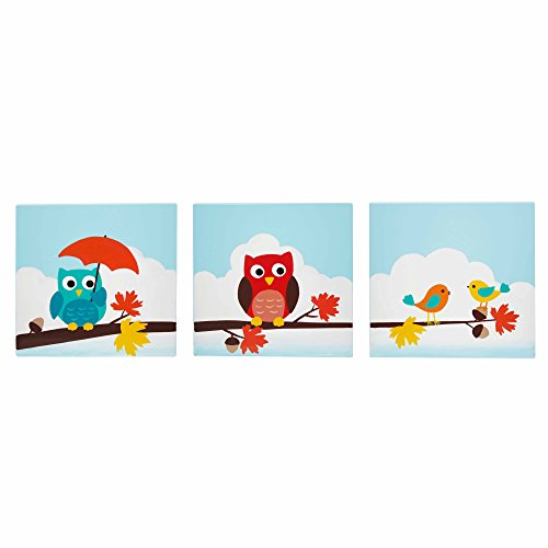 Fantasy Fields TD-11735A Teamson Enchanted Woodland Set d'art mural Bois 29,21 x 1,27 x 29,21 cm