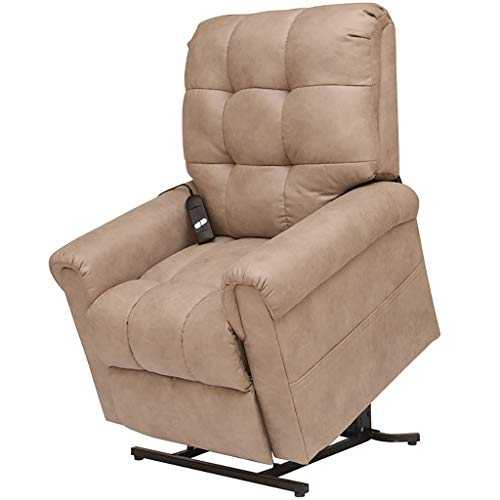 liu Elektrische Massage Power Lift Stuhl für ältere Menschen Liegestuhl Sofa Elektrische Liegestühle mit Fernbedienung Soft PU Lounge