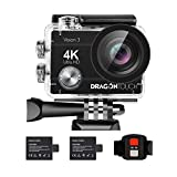 Dragon Touch 4K Action Camera 16MP Vision 3...
