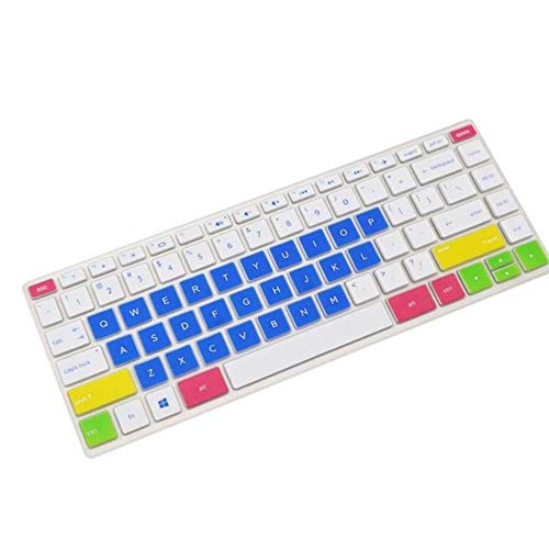 Keyboard cover 14-inch laptop keyboard protective film Keyboard cover skin For HP 14-cd series Laptop,Blue