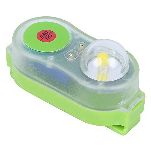 Deror Chaleco Salvavidas Lámpara de luz LED Litio JHYD-I Agua de mar Autoiluminación Linterna Que Salva la Vida Luz de atracción llamativa Lámpara de plástico(Azul)