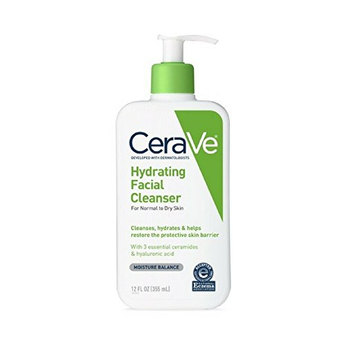 CeraVe Hydrating Facial Cleanser 12 oz (Pack of 5)