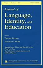 Islam and English in the Post-9/11 Era: A Special Issue of the Journal of Language, Identity, and Education