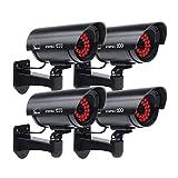 Masione Outdoor Dummy Security Cameras