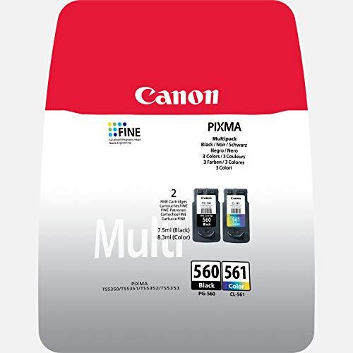 CANON CRG PG-560/CL-561 MULTI BL SEC Ink Value Pack Black & Colour Cartridges