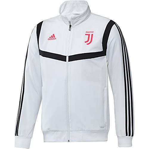 adidas Juve Pre JKT Veste Homme, Blanc/Noir, M