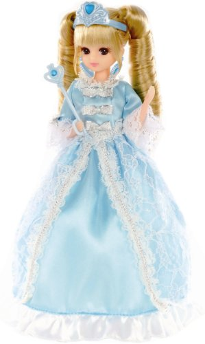 Lica chan LW-15 Blue Princess dress (doll not included) [JAPAN] [Toy] (japan import)