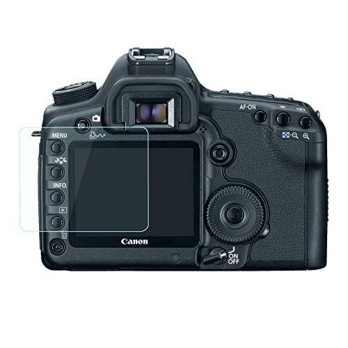 Fiimi - protector de pantalla LCD de cristal templado para Canon EOS 5D, Mark II cámara réflex digital 5DM2, Dureza 9H, 0,3mm de espesor, fabricado en cristal