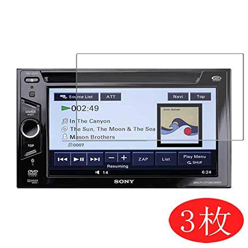 VacFun 3 Piezas HD Claro Protector de Pantalla para Sony XNV-660BT XNV660BT Navigation 6.1in, Screen Protector Sin Burbujas Película Protectora (Not Cristal Templado)