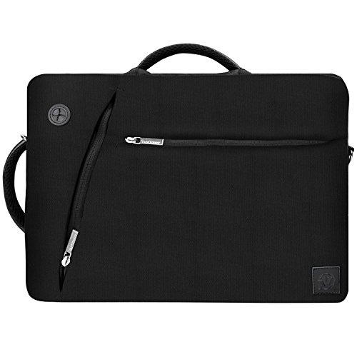 3 in 117 Inch Laptop Shoulder Bag Briefcase Backpack Satchel for Toshiba Satellite C, Satellite L, Satellite S, Qosmio X Series17.3 Laptop, Black