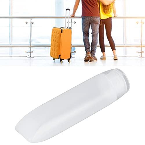 Envase de maquillaje, tubos cosméticos suaves lavables 20 piezas reutilizables para gel de ducha para champú limpiador para loción corporal(30ml)