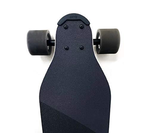 DIYE Skateboard Longboard Nose Guard Tail (2 pcs) for Boosted Board V2 V1