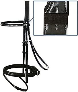 Passier Fortuna Dressage Bridle, Horse Size, Black