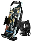 Bike Phone Mount, All-Around Stable Upgrade Motorcycle Handlebars Phone Mount, Bike Phone Holder for iPhone 12 Pro Max/11 Pro/XR/XS Max,Galaxy S20/S10/Note 10 and 4.7'- 6.8' Cellphones