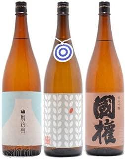 福島県 国権酒造 国権を知ろう 飲み比べ セット 1800ml×3