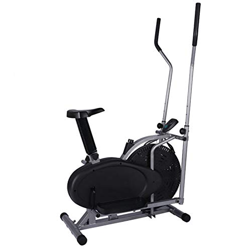JJSFJH Exercise Bikes,Indoor Sports Bikes,Silent Indoor Walking Machine,Space Walk Machine