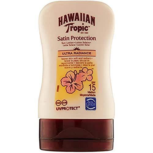 Hawaiian Tropic Satin Protection Sun Lotion Sonnencreme LSF 15 Mini, 100 ml, 1 St