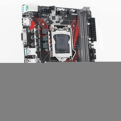 RKRLJX Placa Base Apta para fit for I3 I5 I7 Xeon E3 1150 procesador DDR3 16G 1333 / 1600MHZ Memoria M.2 NVME USB3.0 B85M-VH Plus Placa Base de computadora