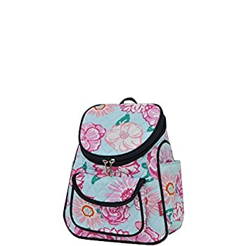 Floral NGIL Quilted Mini Backpack