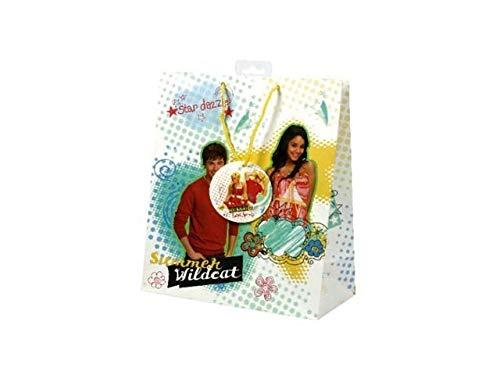 DUE ESSE DISTRIBUZIONI SRL Busta Sacchettro Regalo High School Jumbo 45 x 50 cm