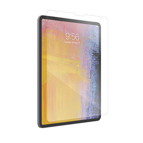 ZAGG InvisibleShield Glass Plus - Tempered Glass Screen Protector Made for the Apple iPad Pro 12.9 inch - Clear