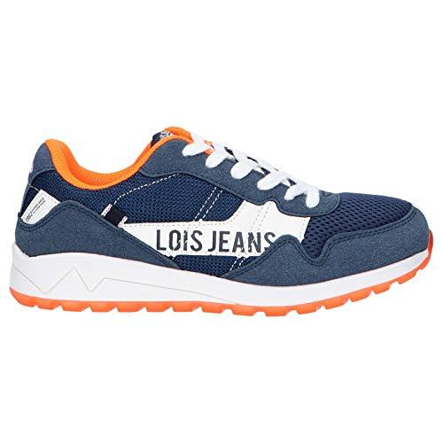Zapatillas Deporte de Mujer y Niño y Niña LOIS JEANS 63051 107 Marino Talla 39