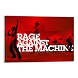 RUIQIU Rage Against The Machine Poster of Rock Band Music