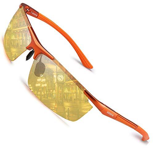 SOXICK 2019 Night Vision Glasses Anti Glare Polarized HD Night Driving Glasses (1)
