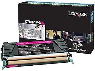 $179 » Lexmark C748H1MG Magenta High Yield Return Program Cartridge Toner