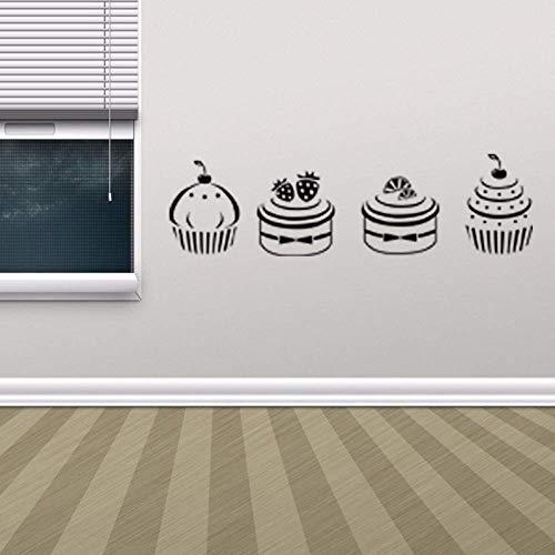 FGYHJ Küche Zimmer Tapete Icon Store Fenster Aufkleber Süßigkeiten Drink Store Tür Service Zeichen