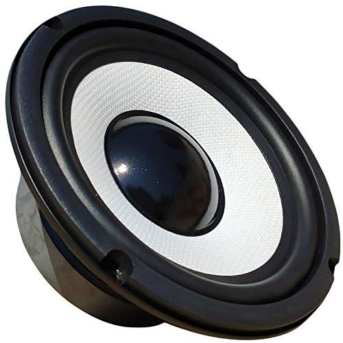 """1 MASTER AUDIO MA16BT/8 Altavoz woofer Blanco Profesional 16,50 cm 165 mm 6,5"""" 150 vatios rms 300 vatios máx 8 ohmios suspensión de Goma 91 db, 1 Pieza"""
