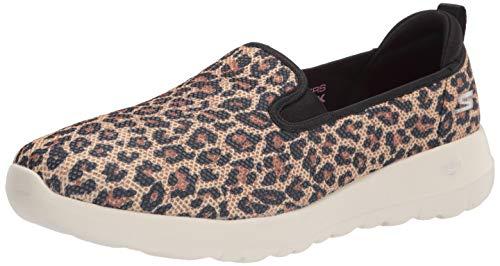 Skechers womens Walking Sneaker, Leopard, 9.5 US
