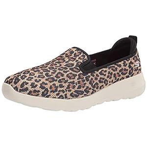 Skechers womens Go Walk Joy - Fiery Sneaker, Leopard, 8 US