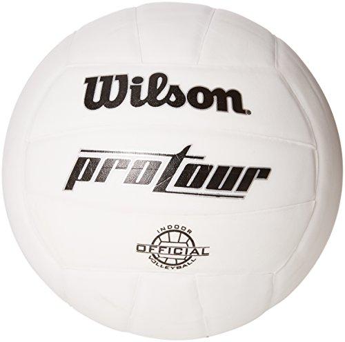 Wilson Balón, Volleyball Pro Tour Indoor, Weiãÿ, Gr. 5, WTH3900X ...