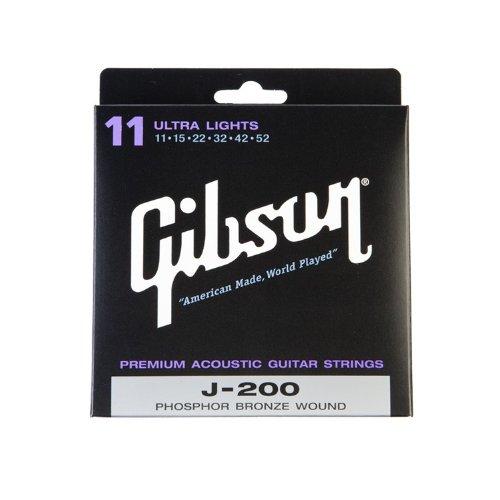 Gibson SAG-J200UL J200 .011-.052 - Ultra Light (Saitensatz f. Westerngitarre)