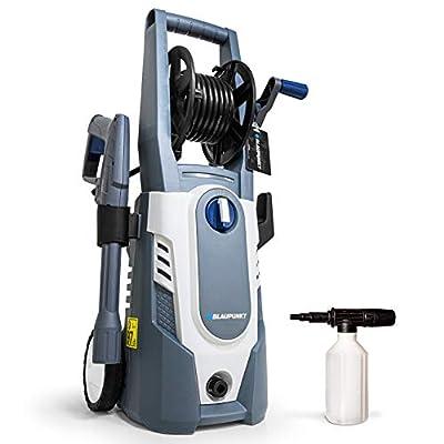 Blaupunkt Pressure Washer PW3100c - 1600W Electric Motor - 135bar - 7.1L/min - 5m Hose - Vario Lance - Detergent Gun - Hose Reel from Blaupunkt