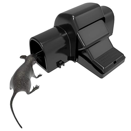 froboo – Rat Trap That Kills Instantly Indoors & Outdoors – Rodent Trap with Child Safe, Pet Safe Hands Free Trigger Pedal (1 Pack)