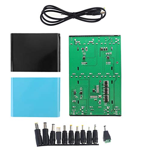 RipengPI USB 5.5x2.1mm 12V-24V Output 12x 18650 Batteries DIY Power Bank for Laptop Phone for Battery
